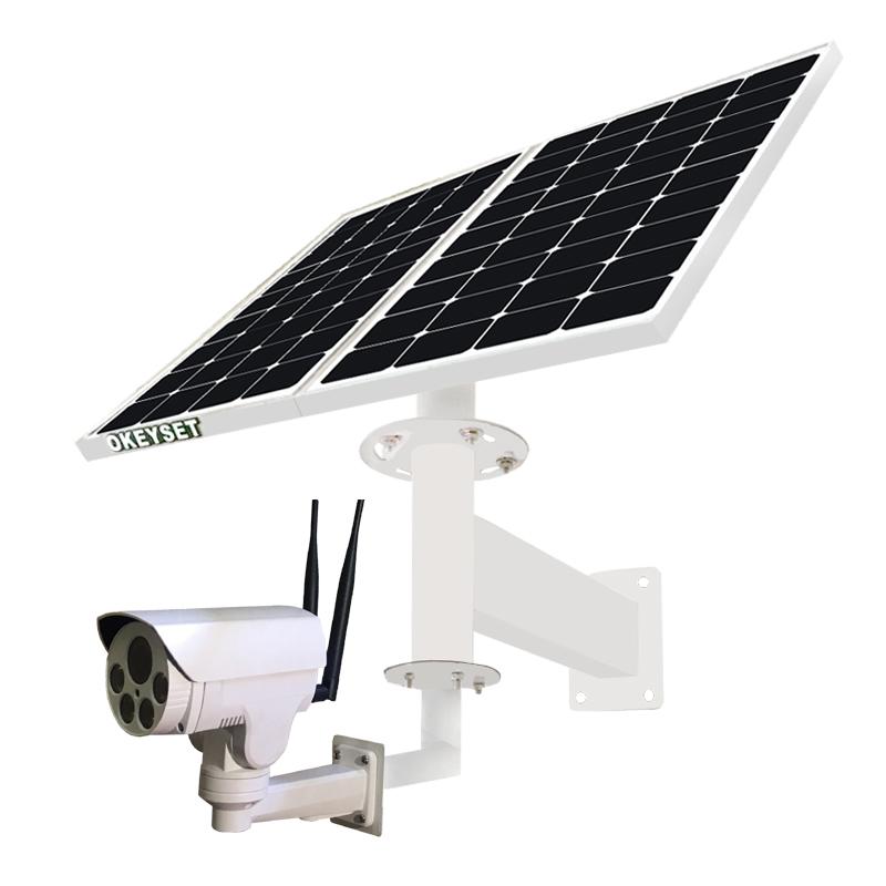 okeyset solar powered camera