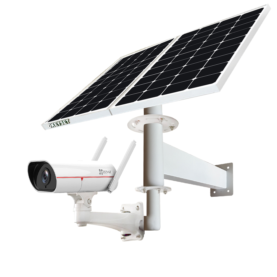 okeyset solar powered camera