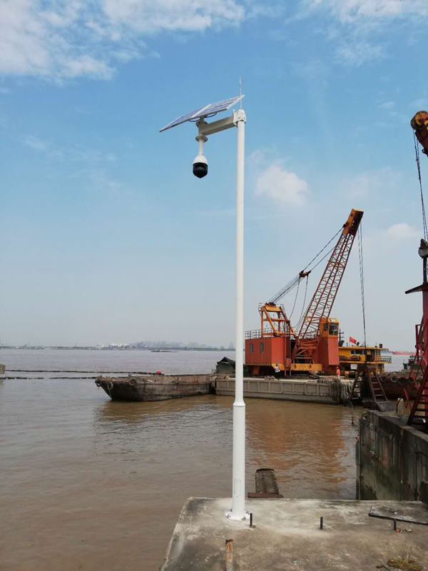 Solar wireless monitoring system for river management