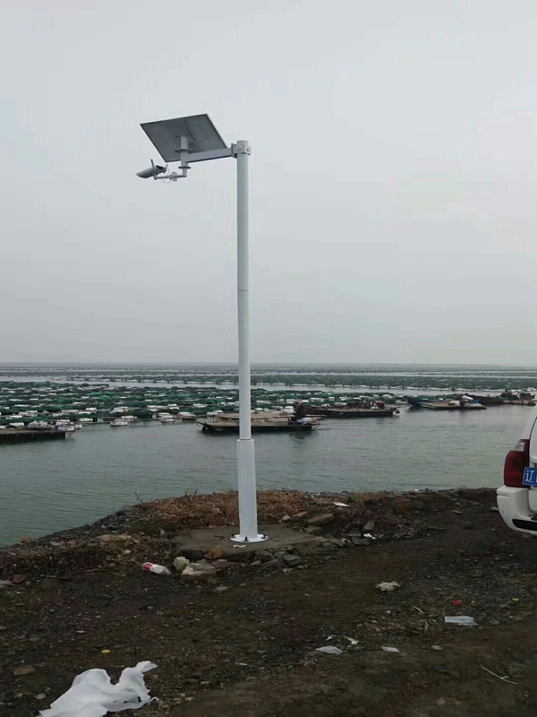 Solar wireless monitoring system for Mariculture