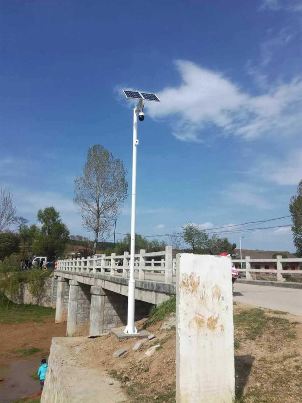 Solar wireless monitoring system for water management