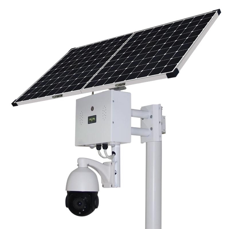 Solar intelligent voice monitoring ball machine, 4G ball machine