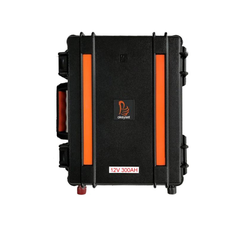 Portable 12V 300ah lithium battery pack